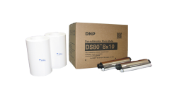 "DNP DS80 8x10"" Media Kit (2 rolls of 130 sheets)"