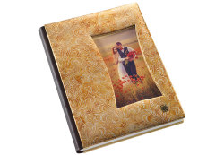 Photostory Cover OL Ispirazione Collection BROCADE Frame Brown