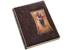 Photostory Cover OL Ispirazione Collection ROSE BRILLANT Frame Brown